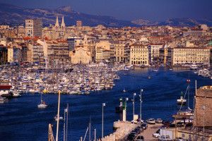 Старинные портовые улочки марселя