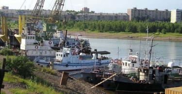 порт Братск